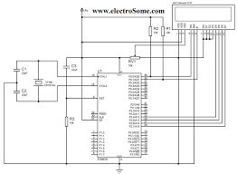 interfacing lcd 8051 microcontroller using keil c at89c51 lcd interfacing 8051 using keil c 4 bit mode circuit diagram