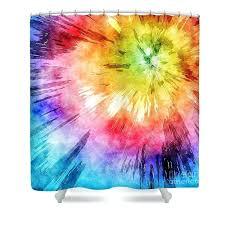 tie dye shower curtain tie dye shower curtain featuring the digital art tie dye watercolor by tie dye shower curtain