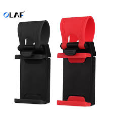 <b>OLAF Universal</b> Car Steering Wheel Clip Mount Holder Cradle ...