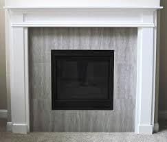 image of diy electric fireplace mantel