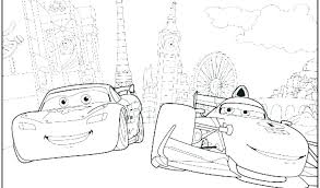 Cars 2 Coloring Pages Sally Vs Doc The Bad Guys Cars 2 Coloring