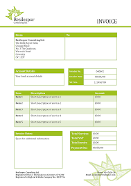 Consultant Invoice Template Free Model Roofing Receipt Perfect