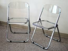 clear perspex folding chairs
