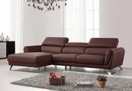 modern sectional sofa. Divani Casa Doss Modern Brown Eco-Leather Sectional Sofa Modern Sectional Sofa
