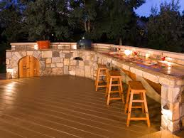 outdoor bars options and ideas