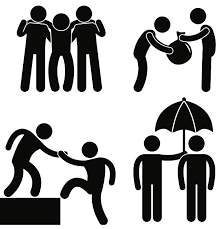 To Assist Someone To Help Someone Pictogram Person Icon