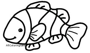 Printable Fish Pictures Fish Tank Coloring Page Printable Fish