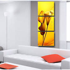 Small Picture Aliexpresscom Buy 3 Pieces Painting Wall Hanging Canvas Picture