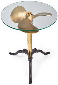 Pendulux, Ship Propeller Side Table, Vintage Inspired ... - Amazon.com