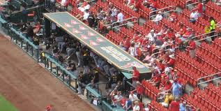 Busch Stadium Outfield Bleachers Baseball Seating