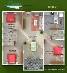 house plans indian style in 1500 sq ft