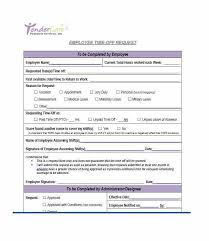 Personal Time Off Request Form Time Off Request Form In Pdf Threeroses Us