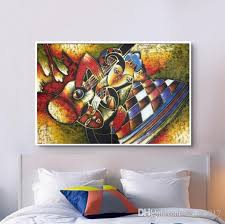 2018 world famous paintings picasso abstract painting woman playing the guitar hand painted oil painting on canvas wall art picture from cyon2017  on famous paintings wall art with 2018 world famous paintings picasso abstract painting woman playing
