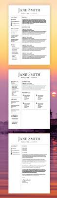 25 Unique Free Resume Templates Word Ideas On Pinterest Resume