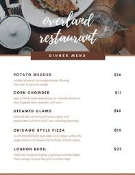 Breakfast Menu Template Extraordinary Customize 48 Breakfast Menu Templates Online Canva