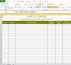 schedules template in excel delivery schedule template excel excel templates pinterest