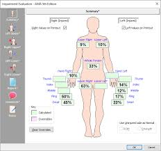 Ama Guides Upper Extremity Conversion Chart Upper Extremity Impairment Calculation Software