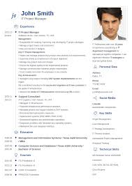 Skillful Design How To Create A Professional Resume 6 Professional