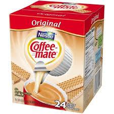 Coffee mate powdered creamer 11 oz, original (pack of 3). Coffee Mate The Original Liquid Coffee Creamer 24 Ct Box Non Dairy Lactose Free Creamer Coffee Mate Coffee Creamer Lactose Free Creamer