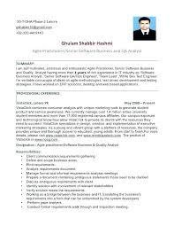 Quality Engineer Resume Format Software Quality Assurance Resume