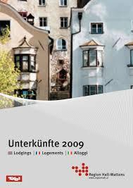 Calaméo Austriainfo Logements 2009 Region Hall Wattens