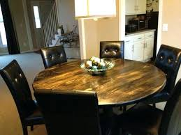 round reclaimed wood dining table round wooden dining table rustic round kitchen table sets unique round