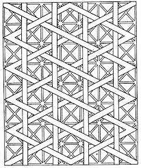 Complex Geometric Coloring Pages Color Bros