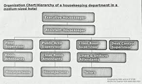 Housekeeping Department Hierarchy In Small Medium Large