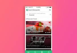 restaurant menu design app top restaurant mobile app features to rock your food delivery