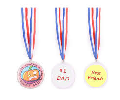 Design Your Own Medal Play Kreative Design Your Own Award Medals Pack Of 24 Kids