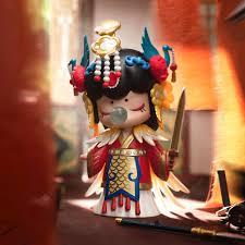 Robotime Nanci 3 Dolls Model Action Figure Toys Blind Box ...