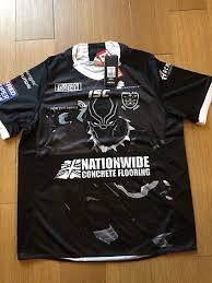 hull fc superhero rugby league shirt black panther new 2xl rrp