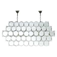 chandelier glass glass chandelier attributed to mercury glass chandelier crystals