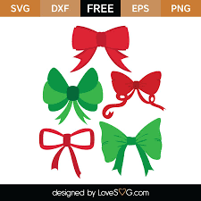 Choose from 340+ christmas bow graphic resources and download in the form of png, eps, ai or psd. Christmas Bow Svg File Free Svg Cut Files Create Your Diy Projects Using Your Cricut Explore Silhouette And More The Free Cut Files Include Svg Dxf Eps And Png Files
