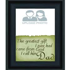dad a greatest gift canvas print 8 x 12