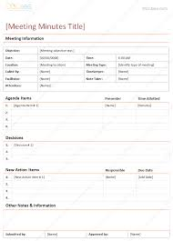 Meeting Of Minutes Format Meeting Minutes Template Detailed Format Dotxes