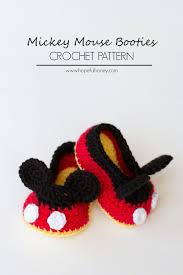 Mickey Mouse Crochet Pattern Free Amazing Decorating Design