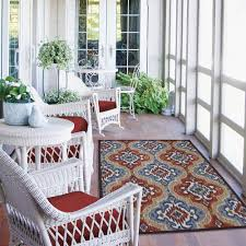 blue and white indoor outdoor rug lennon group integrated strategic marketing rugs under porch mats round black brown navy patio colorful