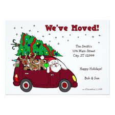 Holiday Moving Invitations & Announcements | Zazzle