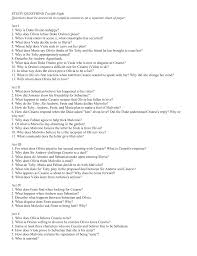 study questions twelfth night