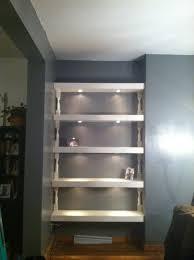 lighting for shelves. Building Shelves Lighting For