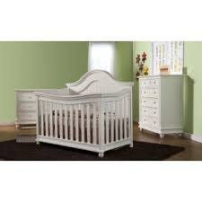 white furniture nursery. Pali Marina 3 Piece Nursery Set In White - Crib, Double Dresser, 5 Drawer Furniture