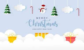 Merry Christmas And Christmas Gift Logo Graphic By Deemka Studio Creative Fabrica
