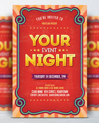 Template For Event Flyer Free Event Flyer Templates Coastal Flyers