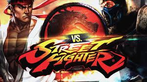 mortal kombat vs street fighter duelo de tit s youtube