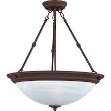 Bowl Pendant Light Fixture Maxim 3 Light Invert Bowl Pendant Oil Rubbed Bronze 5845mroi