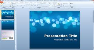 Free Resume PowerPoint Template or CV template for presentations