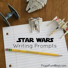 6th Grade Essay Prompts Printable Star Wars Writing Prompts Frugal Fun For Boys