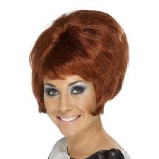 Sixties Hair Style ladies 60s beehive style wig hairstyle swinging sixties fancy 1496 by wearticles.com