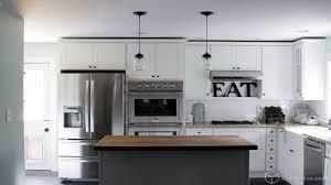 Of White Kitchens Modern White Appliances Kitchen Backsplash Ideas With White